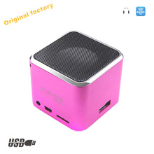 Hot New Products Original Music Angel for Smart phone loudspeaker airplay high Quality for computer sound equipment JH-MD07U red