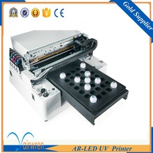 factory wholesale price cheap a3 uv led printing machine print on golf ball(China)
