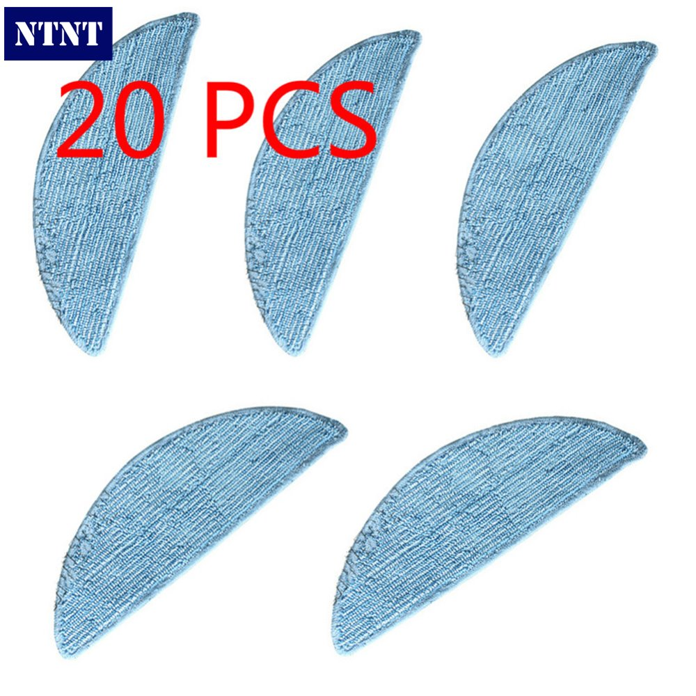 NTNT Free Post new 20 pcs Mopping Cleaning cloth Replace For ECOVACS DEEBOT CEN550<br>