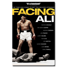 "Muhammad Ali Boxing Boxer Champion Art Silk Fabric Poster Print 12x18 24x36"" Sports Pictures For Bedroom Decor 003"