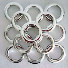 New decoration curtain accessories plastic rings eyelets for curtains silver hole-digging circle CP053&30(China)