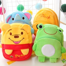 1 pcs Winnie WTH backpack plush toys stuffed dolls plush schoolbag for girls kids birthday gifts