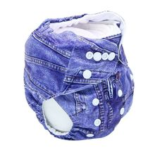 Baby Daily Use Washable Reusable Real Cloth Pocket Suits Birth To Potty One Size Nappy Diaper Cover Wrap Inserts(China)