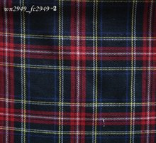 wholesale F109n3 Scottish Style Plaid Fabric cloth For Dress Shirt Clothing(China)
