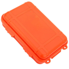 Outdoor Practical EDC Shockproof Waterproof Survival Airtight Holder For Storage Matches Small Tools Travel Sealed Containers