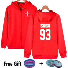 New Red BTS Concert THE WINGS TOUR Design Hoodies Women Plus Size XXXXL Clothing Sweatshirt Bangtan Boys Fleece Streetwear Hoody