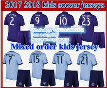 2017 kids New York City DAVID PIRLO IRAOLA soccer jersey 17 18 ORLANDO CITY KAKA SHEA LARIN football shirts 10 free send DHL(China)