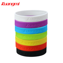 Kuangmi 2 pieces Colorful Bracelet Wristband basketball Cycling Couple lovers(China)