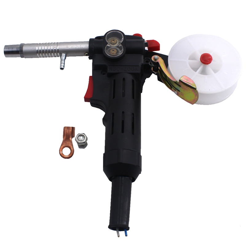 MIG Welding Equipment Spool Gun Push Pull Feeder Aluminum Copper or Stainless Steel DC 24V Motor Line-Drawing Welding Torch<br>