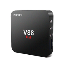 V88 Android 5.1 RK3229 Quad core TV Receiver Media Player 1G RAM 8G ROM 4K TV Box  youtube mushup KODI loaded Miracast player