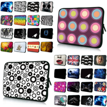 "Colorful Designs New Tablet 7 10.1 Inch Laptop 10 12 13 14 15 17"" Sleeve Bag Duo Zippers Notebook Computer PC Cover Cases Bolsas"