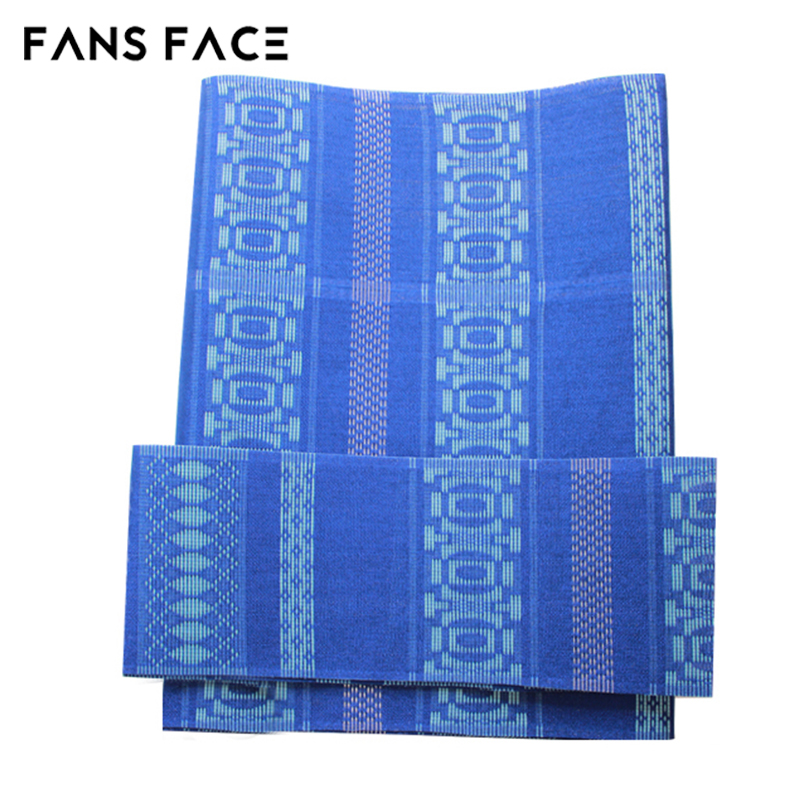 Free shipping!new design!HOT!3pcs/bag,Nigeria aso oke head ties with gold thread.Top class African aso-oke headtie.BLUE.WG054<br>