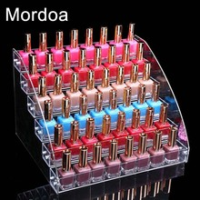 Mordoa Fashion Detachable 6 Tier Organizer Lipstick Display Stand Holder Nail Polish Rack Makeup Cosmetic