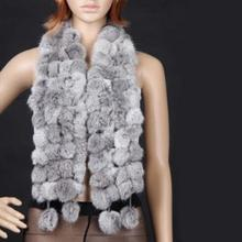 Unique Stylish comfortable Faux Fur Shawl winter warm Collar Stole Scarves Scarf 4 colors