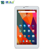"Original iRULU 7"" Tablet Android 7.0 eXpro 6 ROM 16GB 1024 * 600 IPS Screen GMS Certificated Dual SIM Cards Support 3G/2G Tablet(China)"