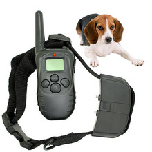 Waterproof Adjustable Electronic Dog Collar Remote Control No Shock Pet Training Collar With LCD Display with LCD Display