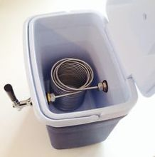 50' Stainless Steel  Coil ,jockey box coil,nice for homebrew  with 5/8G stainless steel  connector(Not include box)