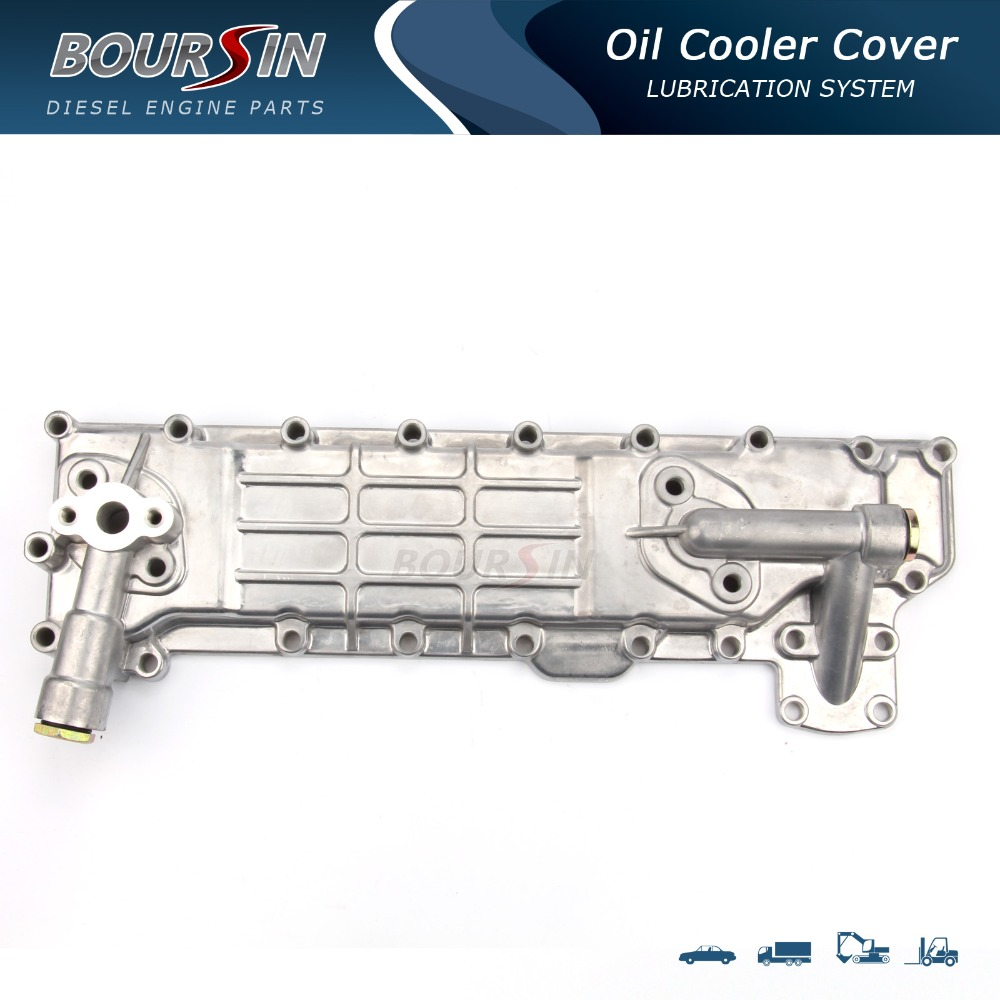 high quality oil cooler cover for engine 4BB1/ 4BD1/ S250/79,KS21 5-11280-002-3 oil cooler covers for diesel engine<br><br>Aliexpress