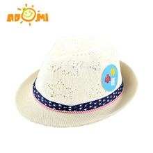 ADOMI 2017 Summer Jazz Toddler Kids Baby Boy Girl Cap Cool Photography Fedora Hats 0-3T