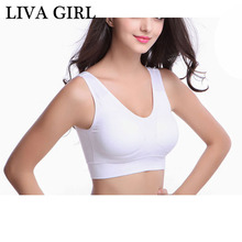 Hot sale Girls Solid Bra Underwear Cotton Hasp Wireless Young Girl Sporting Bra Small Vest Design F0031(China)