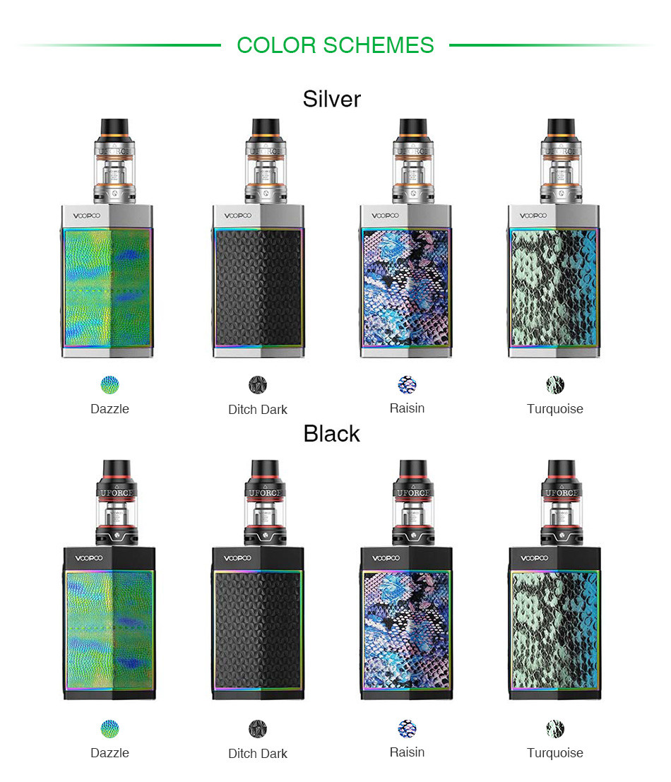 VOOPOO TOO 180W with UFORCE TC Kit
