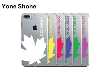 Yone Shone New Arrival Dsquared Milan Ltaly Leaf Brand Soft Clear Tpu Phone Case Cover for iphone 6 6s 5 5s se 7 7 Plus