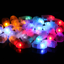 10pcs/Lot Christmas Mini Led Balloon Lamp Ball Light For Chinese Paper Lantern Party Supplies Xmas Party Wedding Decor T1934