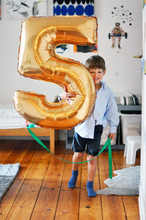Big Number Balloons 32inch Wedding Balloons Birthday Party Decorations Kids Gold Foil Number Balloons 0-9 Helium Number Balloons