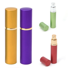 Refillable Travel Atomizer Perfume Bottle Spray 12ml Aluminum Mini