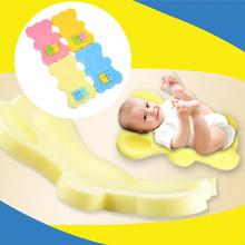 Baby Toddler Soft Bath Sponge Foam Anti Slip Mat Support Safety Comfort Bathroom Mat(China)