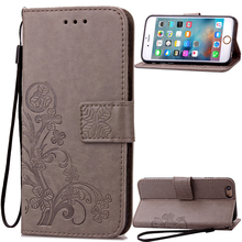 Funda Clover Book Case for Apple iPod Touch 5 6 Touch5 Touch6 Leather Cover Luxry Flip Capa Telephone Mobile Accessorie capa cas