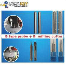 Best Quality Sec-E9 B type probe + milling cutter For Key Cutting Machine Sec-E9 key machine