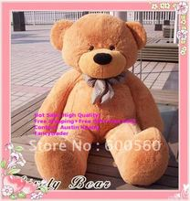 Fancytrader Classical New Light Brown Giant Plush Teddy Bear 71 INCHES (180cm) Free Shipping FT90057