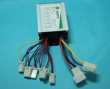 36V 500W DC motor brushed controller for electric bike scooter controlador de motor(China)