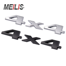 3D metal 4x4 Four wheel drive Car sticker Logo Emblem Badge Car Styling for Fiat Bmw Ford Honda volkswagen Audi toyota opel DS