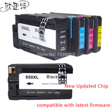 5Pack HP 950 951 XL ink Cartridge Compatible for 950XL 951XL hp Officejet pro 8100 8610 8620 8630 8600 plus printer inks