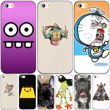 Funny Pug Life cell phone Cover case for iphone 6 4 4s 5 5s SE 5c 6 6s 7 plus case for iphone 7
