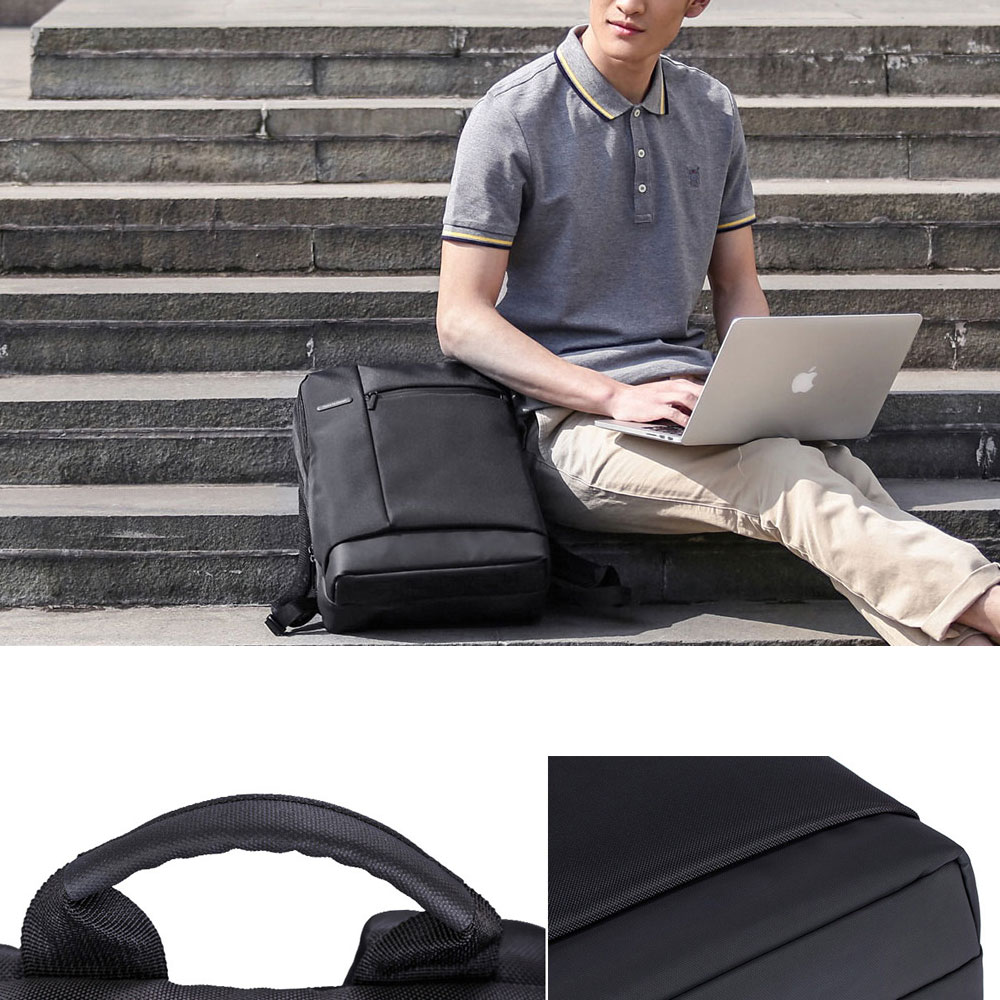 Original Xiaomi Backpack Classic Business Backpacks 17L Capacity Students  Laptop  Men Women Bag  For 15-inch Laptop OK (6)