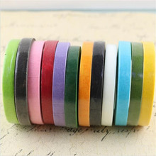 HEY FUNNY 12mm DIY Rainbow Roll Sticky Paper Tape Masking Tape Self Adhesive Tape garland decoration simulation plant supplies