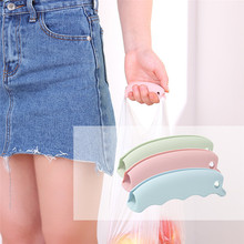 2017 HOT! Multifunction Silicone Portable Vegetable Device Labor Saving Shopping Bag Holder with keyhole Dropshipping A35
