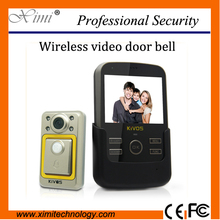 3.5inch wireless video door phone door bell