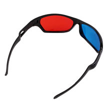 10PCS Classical Black Frame 3D Glasses Red And Blue Lens VR For XGIMI Universal Video Movie Games Pictures Anaglyph Style