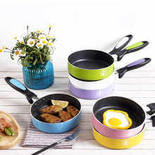 Life83 16 CM Breakfast Non-stick Frying Pans Eggs Pancake Maker No Oil-smoke Frying Pan General Use for Gas and Induction Cooker