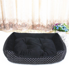 NUOYUFAN Hot Sales!Dog Bed Kennel Soft Dog Mats Puppy Cat Bed Pet House Nest  Small Dog Pad Winter Warm Pet Cushion