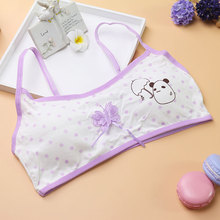 Girls Students Sweet Training Bras Young Girl Comfortable Breathable Bra Kids Intimates Healthy Wire Free Bra Children Underwear