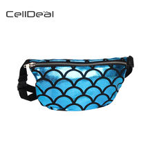 CellDeal Fashion Belt Bag Mermaid Fishtail Waist Pack High Quality Women  Waist Bag Fish Scales Shoulder Bag Hip Pouch Purse 1dba1e04721c
