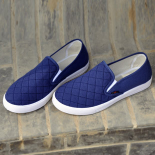 Casual Flat Candy Color Loafer women Shoes Round Toe canvas Flats shoes Free Shipping ALS712B<br><br>Aliexpress