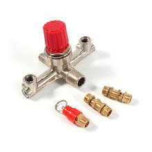 Double Outlet Tube Alloy Air Compressor Switch Pressure Regulator Valve Fit Part(China)