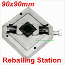 90X90mm BGA Reballing Station Stencils Template holder Reflow Station Accessory(China)