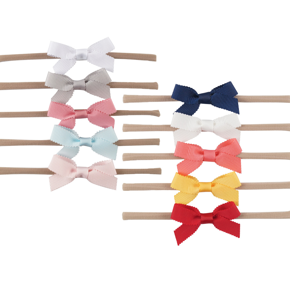 In Obliging Korea Ribbon Bunny Hair Accessories For Girls Hair Bands Rabbit Ears Hairband Flower Crown Headbands Hair Bows Excellent Quality